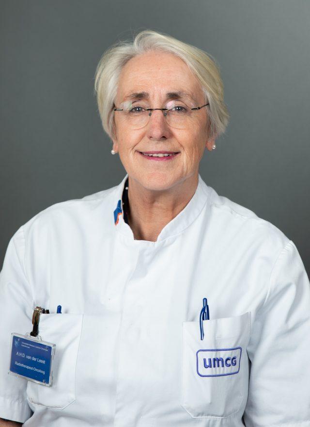 radiotherapeut oncoloog umcg protonen van der Leest